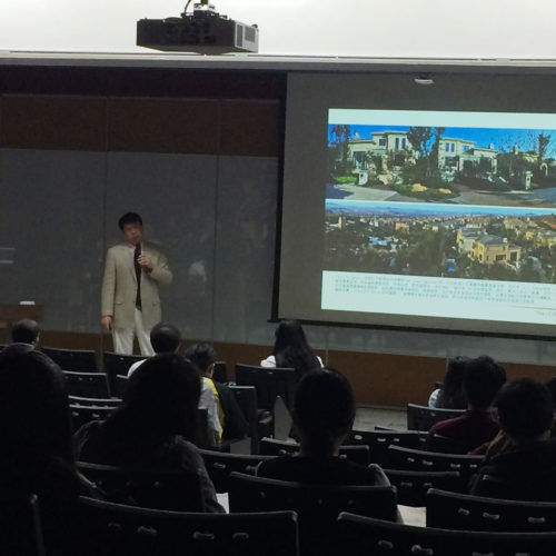 LCW Complete Street and Healthy Community Speeches in China and Taiwan Universities